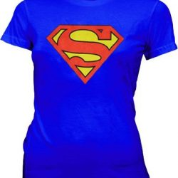 Superman Original Classic Logo T-shirt - Blue - XL