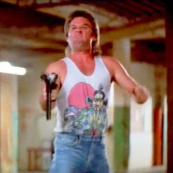 Tank top Kurt Russell in Big Trouble in Little China