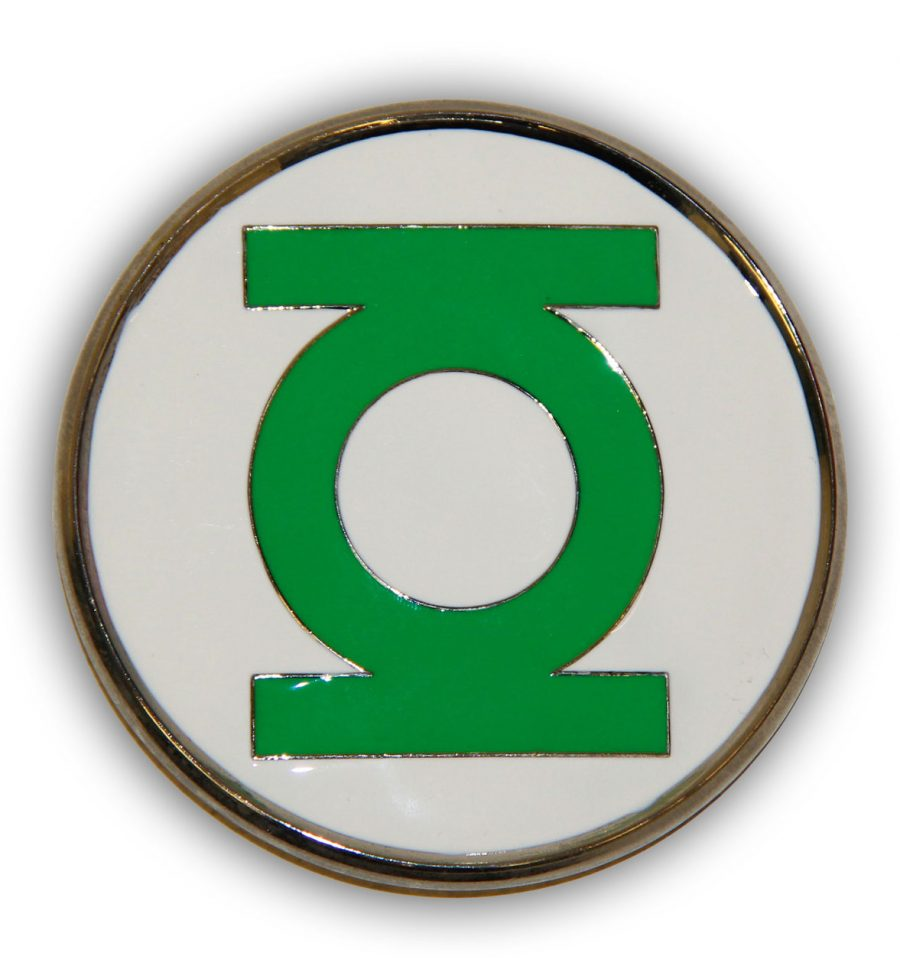 The Green Lantern Logo Belt Buckle - Green - One size fits all