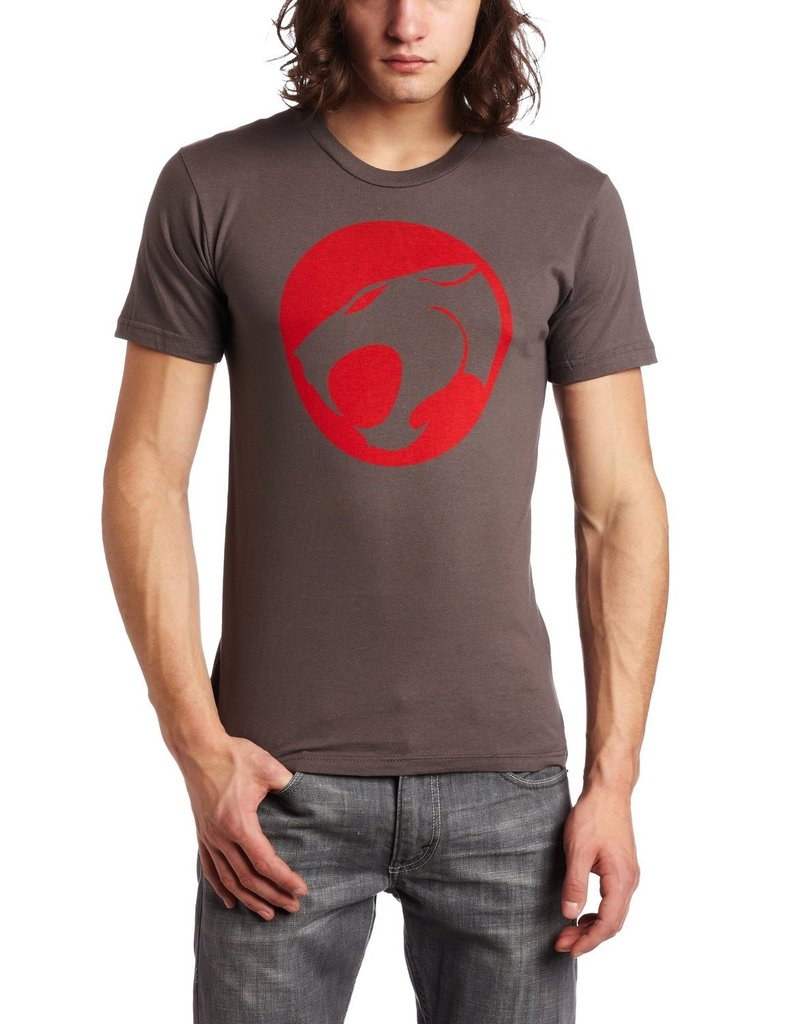 Thundercats Original Distressed Logo T-shirt - Charcoal - 3X