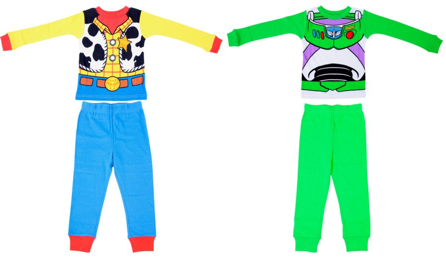 Toddler Toy Story Sleepwear Set - Yellow/Blue/Green - 4 Toddler