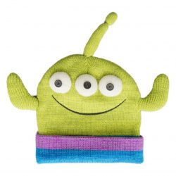 Toy Story Alien Face Peruvian Knit Beanie Hat
