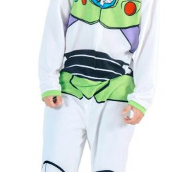 Toy Story Buzz Lightyear Union Suit Costume Pajama - White - XL