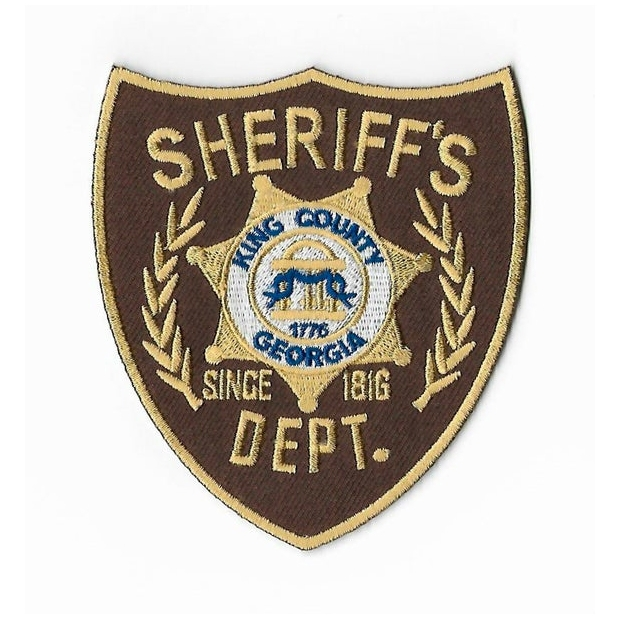 Walking Dead Sheriff's Dept. King County Georgia Patch