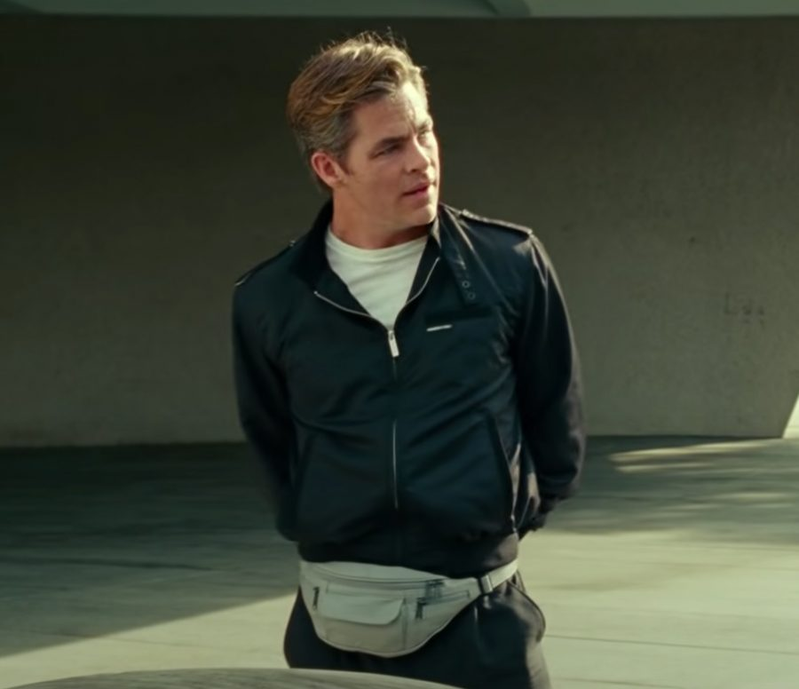 Members Only Jacket Chris Pine in Wonder Woman 1984