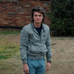 Jacket Joe Keery in Stranger Things