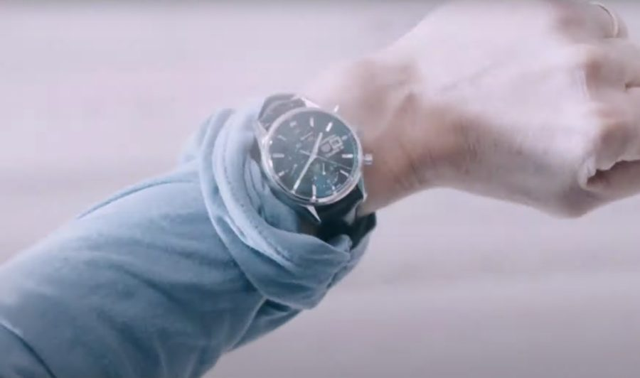 Wristwatch Kevin Bacon in You Should Have Left