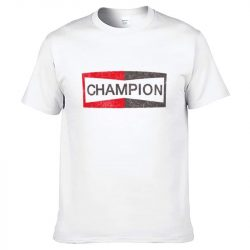 White Champion shirt Brad Pitt Once Upon a Time in Hollywood