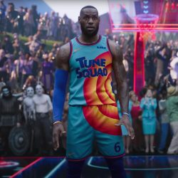Tune Squad Basketball Outfit LeBron James in Space Jam- A New Legacy