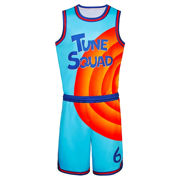 Tune Squad Basketball Outfit LeBron James in Space Jam- A New Legacy close match