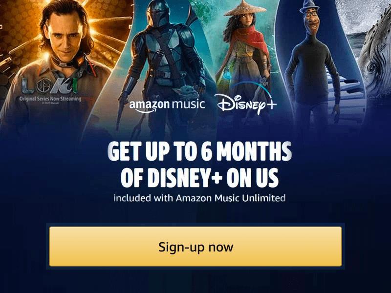 Amazon Disney Plus